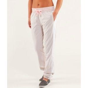 Lulu Work It Out Track Pants *Lined Joggers Sweats